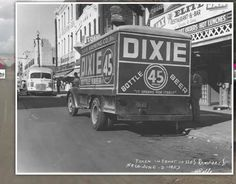 Dixie Beer Delivery Truck, New Orleans, 2 June 1953.