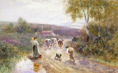 Victorian British Painting: Thomas James Lloyd