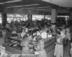 Sears, Fort Lauderdale, FL - 1955