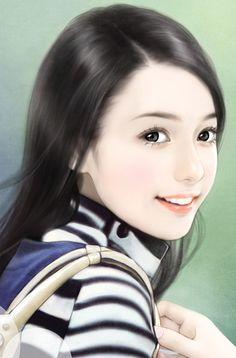 chinese art : 唯美手绘