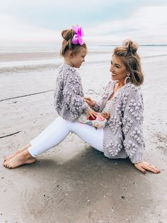 Mum And Daughter Matching, Dear Daughter, Mommy And Me Outfits, Girl Outfits, Mother Daughter Fashion, Red Booties, Cute Baby Videos, Valentine's Day Outfit, Sons