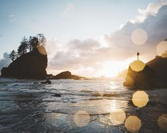 Sunset at La Push by samuelelkins