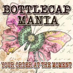 Really love what bottlecapmania is doing on Etsy.