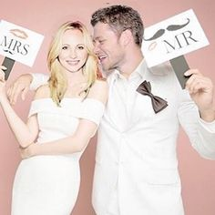 Candice + Joseph ❤️ The Vampire Diaries ❤️ *not actually married*
