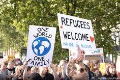 The Elders launch their new report on refugees and mass migration, calling for…