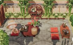 Animal Crossing Modern Japanese Design Ideas & Codes - ACNH Japanese Market, Zen Garden, Room, And Street Island Designs