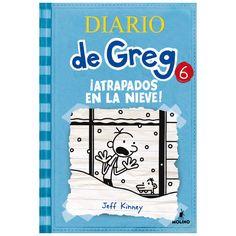 """""""Diario de Greg 6: Atrapados en la nieve"""" de Jeff Kinnney"""