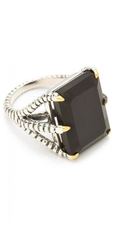 Elizabeth James Elizabeth and James Bird Claw Ring with Onyx | Jewelry and Accessory