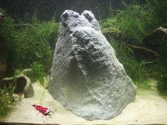 Barsch Wels oder Fisch Felsen -  Deko - Aquarium - Gebirge - Stein Zubehöhr -