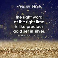 Proverbs 25:11    ~Toby Mac~
