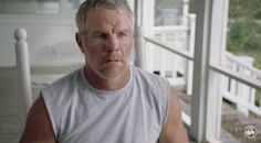 Just Brett Favre and His Wife Flexing -- Former Green Bay Packers quarterback Brett Favre appears to be in tremendous shape. Here are he and wife Deanna flexing. He's shirtless, no less.