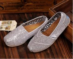 fresh and ready for your feet,TOMS shoes,god...SAVE 62% OFF! this is the best! | See more about kid shoes, toms outlet shoes and glitter toms.