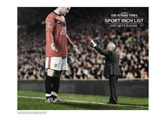 AWARD: CRISTAL & GRAND CRISTAL / CATEGORY: MEDIA / CAMPAIGN: The Sunday Times Rich List campaign: Sport / ADVERTISER: CHI & Partners / News International / AGENCY: CHI & Partners, UK