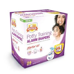 Potty Patrol's Potty Training Alarm Diapers are designed to notify you and your child when wetting occurs, so that you can place your child on the toilet immediately. Being placed on the toilet while the event is still fresh in your child's mind helps them make the connection between cause and effect more quickly and effectively.