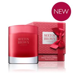 Molton Brown USA   Frankincense & Allspice Christmas Scented Candle