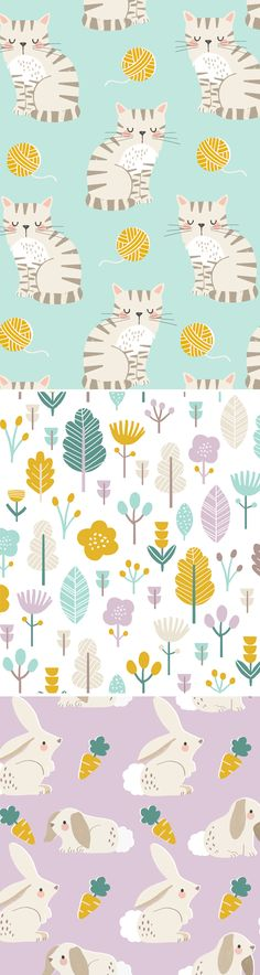 wendy kendall designs – freelance surface pattern designer » perfect pets