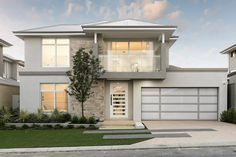 The Barossa © Ben Trager Homes | Perth Display Home | Modern Facade Elevation