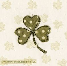 Day 17 #springintodesign Shamrock  http://may-i-design.blogspot.co.uk/2015/03/spring-into-design-day-seventeen.html