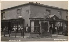 North Curry Post Office, Somerset. Some of my ancestors were from North Curry - if you're researching the Denman, Broom or Baskett families, do get in touch! esjones <at> btopenworld.com