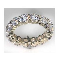This is fun, an eternity band of quarter carats.
