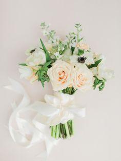 Spring wedding bouquet: http://www.stylemepretty.com/south-carolina-weddings/charleston/2016/09/02/elegant-magnolia-plantation-wedding/ Photography: Rachel May - http://rachel-may.com/