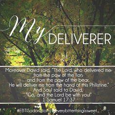 My deliverer.