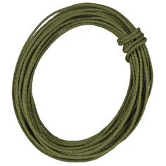 4 mm Moss Green Wired Jute Roping - great for adding texture to your fall decor. Many other colors available at http://www.trendytree.com #trendytree #burlap #jute #roping
