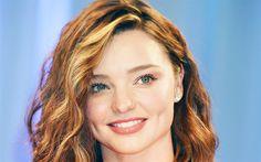 Indir duvar kağıdı Miranda Kerr, portre, gülümseme, Güzel kadın, Avustralyalı manken, Victorias Secret