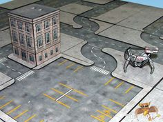 Fat Dragon Games Capital City Layout three
