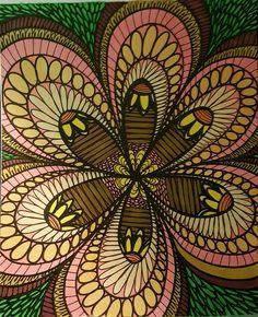 ColorIt Colorful Flowers Volume 1 Colorist Rachel Switzer Adultcoloring Coloringforadults Adultcoloringpages