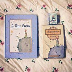 Le Petit Prince in three languages!