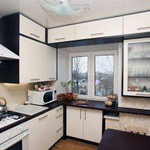 Как обустроить малогабаритную кухню в хрущевке: дизайн, фото, идеи-4
