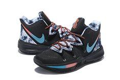 pretty nice 1e2e2 23b37 Nike Kyrie 5 Black   Colorful Men s Basketball Shoes Irving Sneakers Nike  Basketball Shoes, Basketball