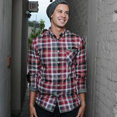 Sullivan Plaid Shirt Red  - Pocket Change