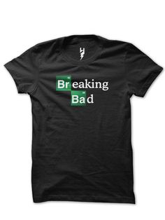Breaking Bad from XTEAS Breaking Bad Series Inspired Tee  Printed on 100% Organic Cotton, XTEAS Premium T-Shirt.