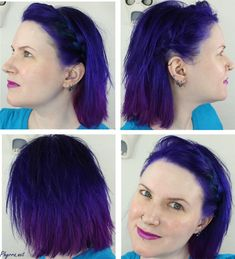 On the page You see beautiful pictures on the theme: pravana violet hair color. Funky Hair Colors, Violet Hair Colors, Hair Color Purple, Zooey Deschanel, Overtone Hair, Pravana Hair Color, Rasta Hair, Cabello Zayn Malik, Purple Balayage