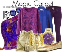 Disney Bound - Magic Carpet