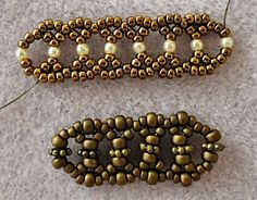 11/0 and 2mm Linda's Crafty Inspirations: Bracelet of the Day: Silver Lace