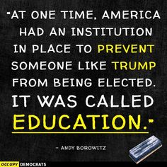 """Now you're going to get a newer, better, privatized version of """"education"""" -- you'll get to pay more for a whole lot less. Don't worry -- it's just business."""