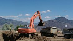 Gif of early construction of Creston House development at TRU. As seen May Rivers, University, Canada, Construction, Train, House, Building, Home, River