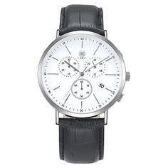 AIBI Wasserdichte Herren-Armbanduhr Sport Chronograph Led…