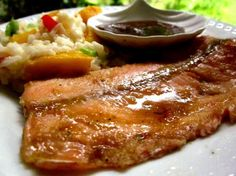 Copycat Recipes-Applebees Honey Glazed Salmon- Aunt Jessica, you might wanna try this=]