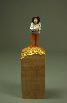 Wood Carving, Ceramic Art, Wood Projects, Sculptures, Ceramics, Statues, Houses, Inspiration, People
