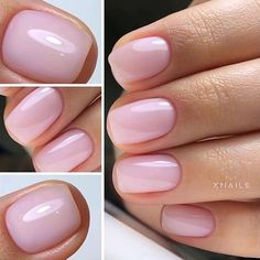The length of natural nails do not prevent us from doing housework and they also reflect our pursuit of exquisite life in a busy workplace. The colors and patterns of natural nails are simple and generous but not overly exaggerated. Frensh Nails, Swag Nails, Pink Nails, Cute Nails, Pretty Nails, Hair And Nails, Acrylic Nails, Fancy Nails Designs, Natural Nail Designs