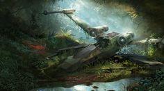 Beautiful Star Wars Illustrations by Tysen Johnson