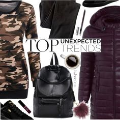 Street Style by pokadoll on Polyvore featuring Wrap, Puma, MICHAEL Michael Kors, NYX, polyvoreeditorial and polyvoreset