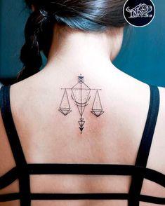 tattoos - 34 Gorgeously Libra Tattoo Ideas That Will Make Other Signs Jealous Libra Tattoo, Libra Constellation Tattoo, Soul Tattoo, Libra Scale Tattoo, Libra Symbol, Law Tattoo, Libra Zodiac Tattoos, Girly Tattoos, Unique Tattoos