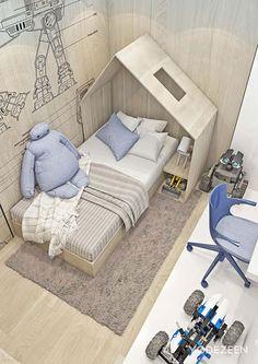 Уютная квартира в мужском стиле в Кракове, Польша