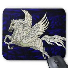 stain glass pegasus - Google Search