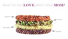 All of the 85 women artisans that we employ are loving mothers... Send info@samesky.com a quote describing what you love most about your mom or any mother figure in your life.    In exchange, we'll send you a **50% OFF COUPON CODE** for your purchase of any of the four Prosperity bracelets featured below!    http://www.sameskyshop.com/collections/mothers-day-special